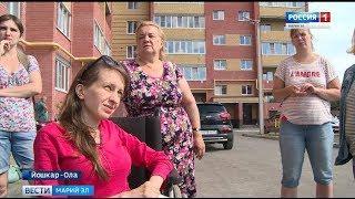 Жильцы йошкар-олинской новостройки препятствуют установке пандуса для колясочницы