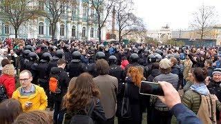 Митинг  5 мая в  Санкт-Петербурге.