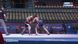Чемпионат мира по греко-римской борьбе открывали под «Калинку»