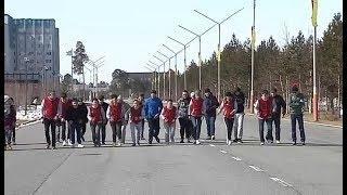 В Когалыме зовут всех на марафон