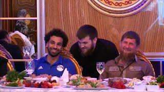 Банкет не подружил Салаха и Кадырова