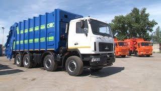В Волгоград доставили чудо-мусоровозы