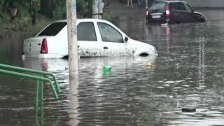 Новочеркасск справился с последствиями сильного дождя