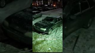 ДТП: в машине нет водителя, сработал автозапуск.