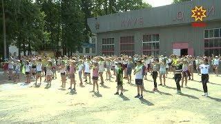Уже почти неделю в детском лагере «Березка» идет танцевальная смена.