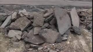Ярославцы жалуются в «Дорожный патруль» «Вестей» на мусор, оставшийся после ремонта дорог
