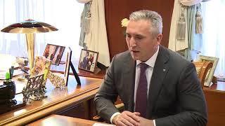 Встреча Александра Моора и Валентины Матвиенко