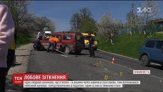 Одна людина загинула під час ДТП у селі на Прикарпатті