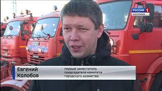 Костромские дорожники переходят на зимний режим работы