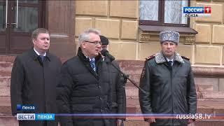 Пензенские инспекторы ГИБДД получили ключи от новых служебных машин