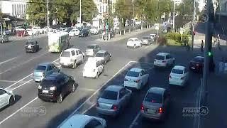 ДТП на ул. Северная и ул. Рашпилевская 13.08.2018
