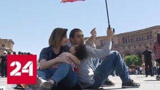 Сторонники Пашиняна почти на сутки парализовали Армению - Россия 24