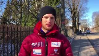 Вологодский биатлонист Максим Цветков проголосовал на выборах в Осло