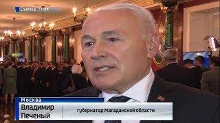 Губернатор В  Печеный дал интервью после Инаугурации Президента
