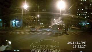 ДТП на перекрестке Ямская-Льва Толстого- 6.11.18