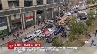 Бульвар Лесі Українки паралізувала ДТП за участі десятків авто