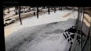 ДТП с маршруткой в Запорожье. 22 марта