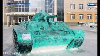 В РА завершился фестиваль снежных скульптур