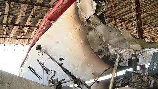 Под Волгоградом потерпел крушение легкомоторный самолет