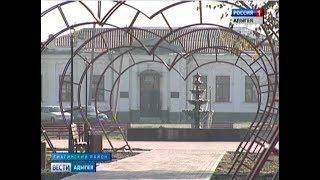 Мурат Кумпилов проинспектировал ход реконструкции парка в станице Гиагинской