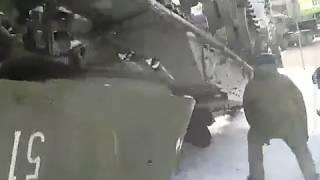 Артиллерийская установка «Акация» упала с трала в Калининградской области