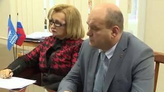 Приём граждан у Андрея Макарова