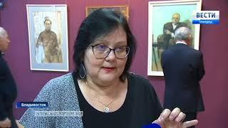 «Линия жизни» -  выставка памяти Валентина  Чеботарева открылась в Приморской картинной галерее