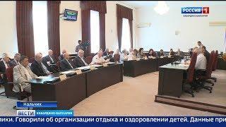 В парламенте прошло заседание Консультативный совет при председателе.