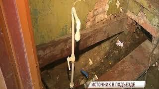 Жителям дома на Чкалова, оставшимся без воды, вывели кран у входа в подъезд