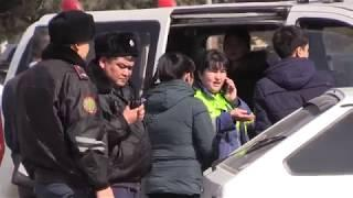 В Шымкенте скорая с беременной женщиной попала в ДТП