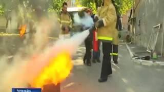 В психоневрологическом интернате Ростова тушили условный пожар
