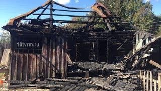 Житель Мордовии получил ожоги при спасении дома от огня