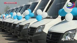 Автопарк Махачкалы пополнился 15 новыми микроавтобусами
