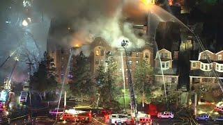 Пожар в доме в Филадельфии
