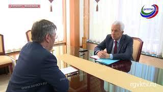 Врио главы Дагестана встретился с руководителем Бурятии