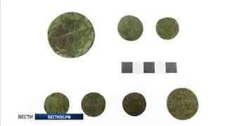 Вологодский археолог обнаружил 15 медных монет XVIII века