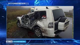 На трассе в Башкирии грузовик занесло и отбросило на легковушку: погиб человек
