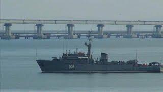 Помехи судоходству в Азовском море