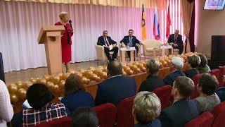 Министр образования России высоко оценила открывшуюся школу в Верхнем Ломове