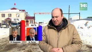 Путин проиграл в Татарстане: деревня Хузангаево - за Грудинина! 7 дней - ТНВ