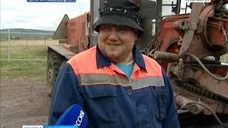Красноярцы жалуются на ужасное состояние дороги в посёлке Бугачево