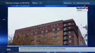 В Перми спасатели сняли овчарку с крыши многоэтажки