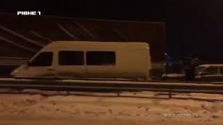 На Рiвненщинi в ДТП потрапив автобус сполучення Киъв - Варшава