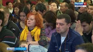 В центральном Хуруле состоялся праздничный  молебен