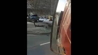 В ДТП на мильковской трассе пострадала семейная пара с двумя детьми