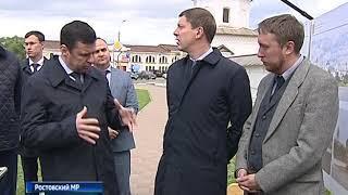 Губернатор Дмитрий Миронов побывал с рабочим визитом в Ростовском и Борисоглебском районах