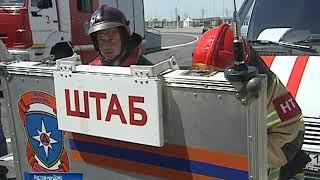 На стадионе «Ростов Арена» потушили крупный пожар
