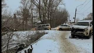 Снегопад и ДТП