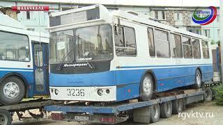 Махачкала получила в подарок от правительства Москвы 15 троллейбусов