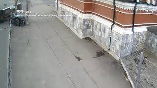 ДТП с маршруткой в центре Перми